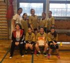 Második helyen végzett iskolánk IV. korcsoportos lány kézilabda csapata a kézilabda diákolimpia alapszintű fordulóján