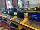 Megérkeztek iskolánkba a Szombathelyi Egyházmegye által vásárolt laptopok