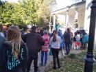 Október 15-én délután iskolánk napközis és tanulószobás tanulói Világ Gyalogló napon vettek részt